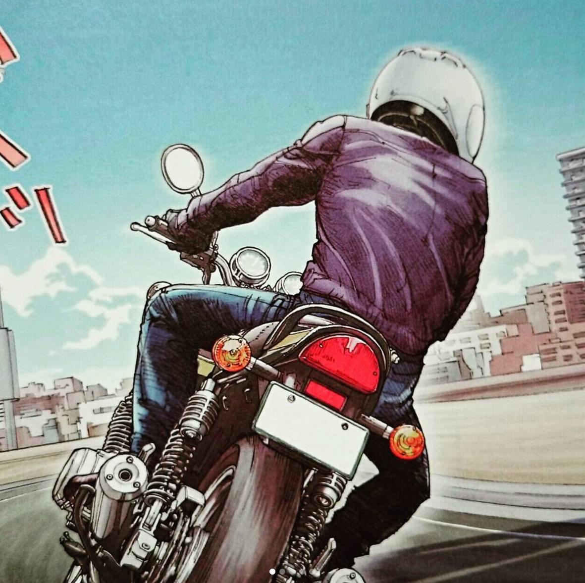 Badass Motorcycle Art By Zx 12rf