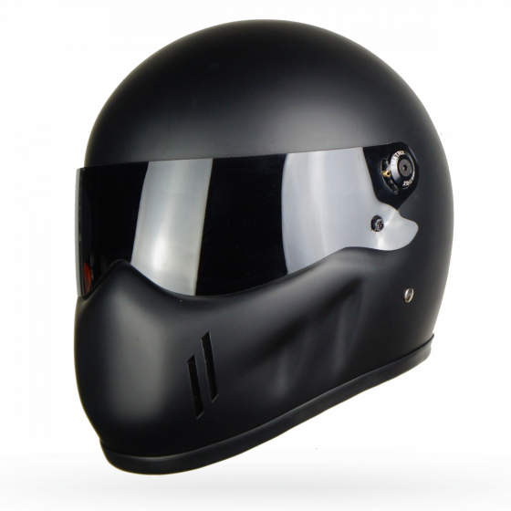 Carbon Fiber Motorcycle Helmets >> Review: Matrix Alpha Street Fighter Fibreglass Helmet