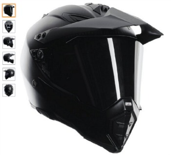 AGV AX 8 Dual Sport Evo Helmet Matte Carbon