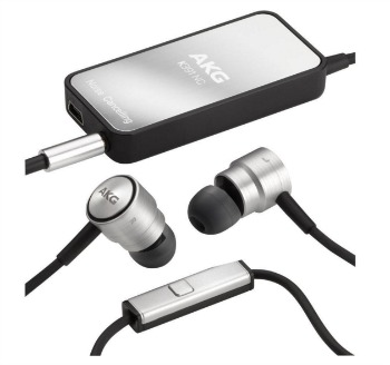 AKG K391NC High Performance Noise Cancelling In Ear Headphones with In Line Microphone and Digital Active Noise Cancellation