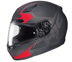 hjc mission cl 17 on road motorcycle helmet mc 1f review. Black Bedroom Furniture Sets. Home Design Ideas