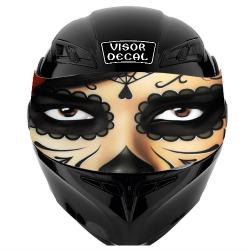 Motorcycle Helmet Visor Decals - Motorcycle helmet decals and stickers