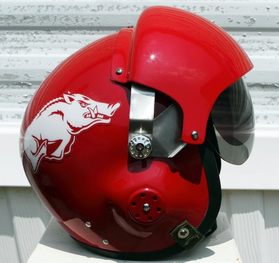 Football Helmet Painting : College football themed motorcycle helmets south eastern
