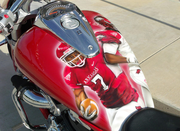 College Football Themed Motorcycle Helmets South Eastern
