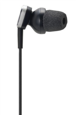 Audio Technica ATH ANC23 QuietPoint Active Noise Cancelling In Ear Headphones