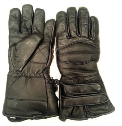 best-nekid-cow-brand-black-leather-motorcycle-waterproof-cold-weather-year-round-insulated-gauntlets-guaranteed-riding-padded-gloves-insulated-women-men-unisex