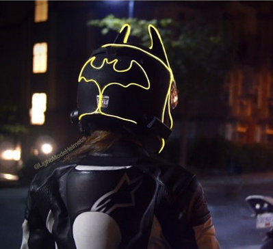 Batman Lightmode Helmet