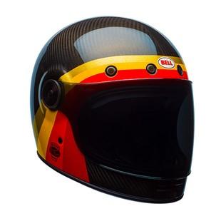 Bell Bullitt Carbon Chemical Helmet Shown Left