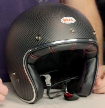 Carbon Fiber Motorcycle Helmets >> Bell Custom 500 Carbon Helmet Review