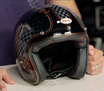 Bell Custom 500 Carbon RSD Motorcycle Helmet