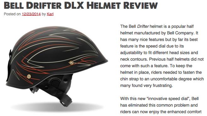 Bell Drifter Helmet Review