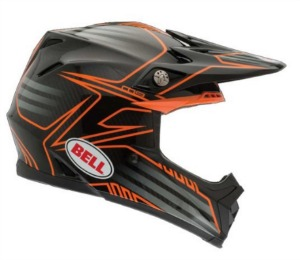 Bell Men s Pinned MOTO 9 MX Off Road Dirt Bike Motorcycle Helmet