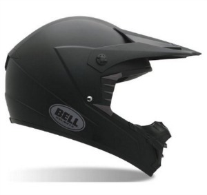 Bell Solid Men s SX 1 Off Road Dirt Bike Motorcycle Helmet   Matte Black