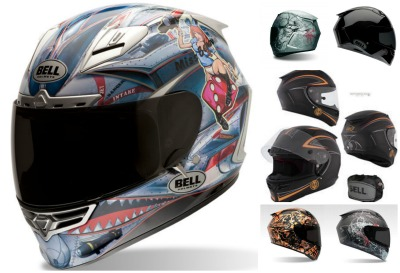 Bell Star Motorcycle Helmet collage for review