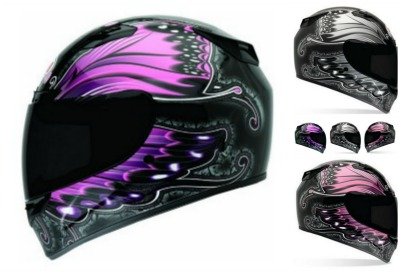 Bell Vortex Motorcycle Helmet Collage for review