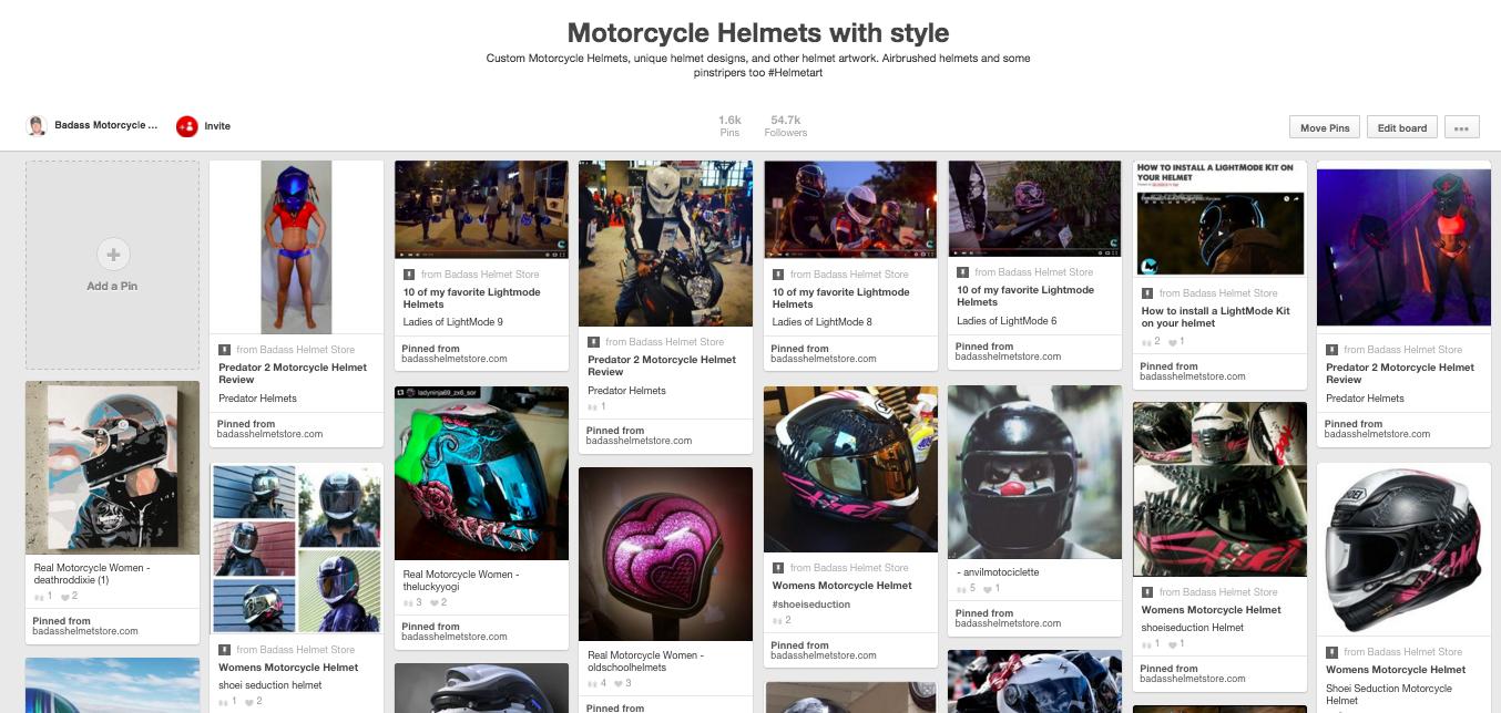 Biker Karl Motorcycle Helmets with style