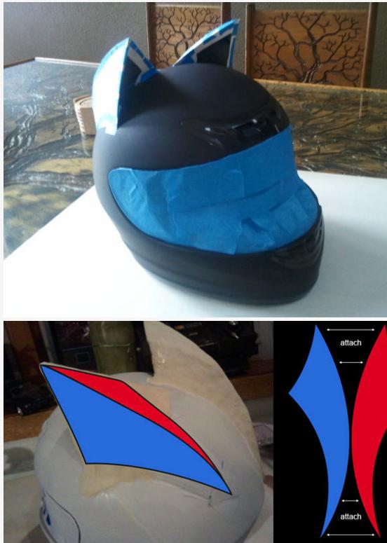 Celty Cosplay Cat Helmet Modification 2