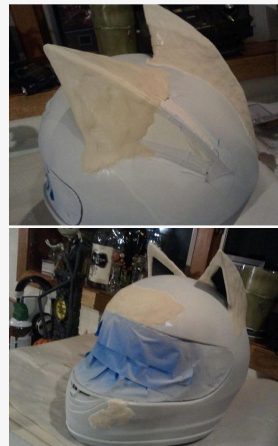 Celty Cosplay Cat Helmet Modification 4