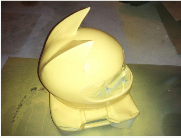 Celty Cosplay Cat Helmet Modification 6