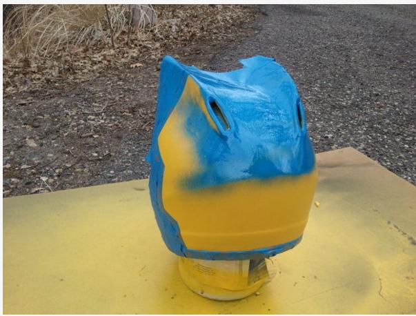 Celty Cosplay Cat Helmet Modification 7