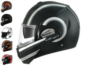 Collage for Shark Evoline Series 3 Helmet Review