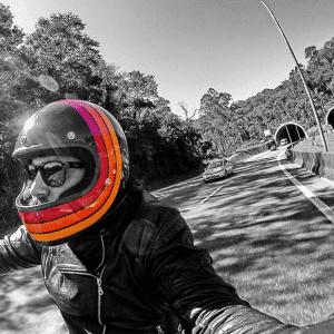 Colored Bell Gringo Helmet