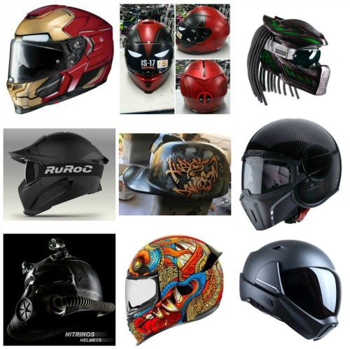 Voorkeur Coolest Motorcycle Helmets.... [New Releases for 2017] #IS13