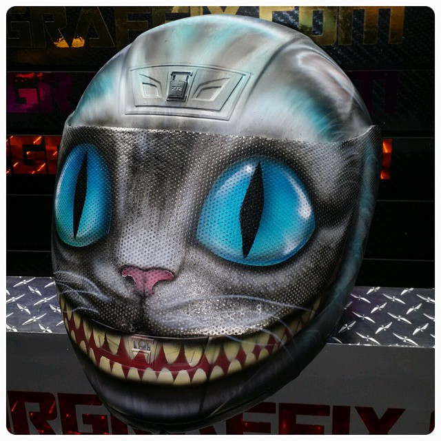 Custom Airbrushed Motorcycle Helmets By Airgraffix My