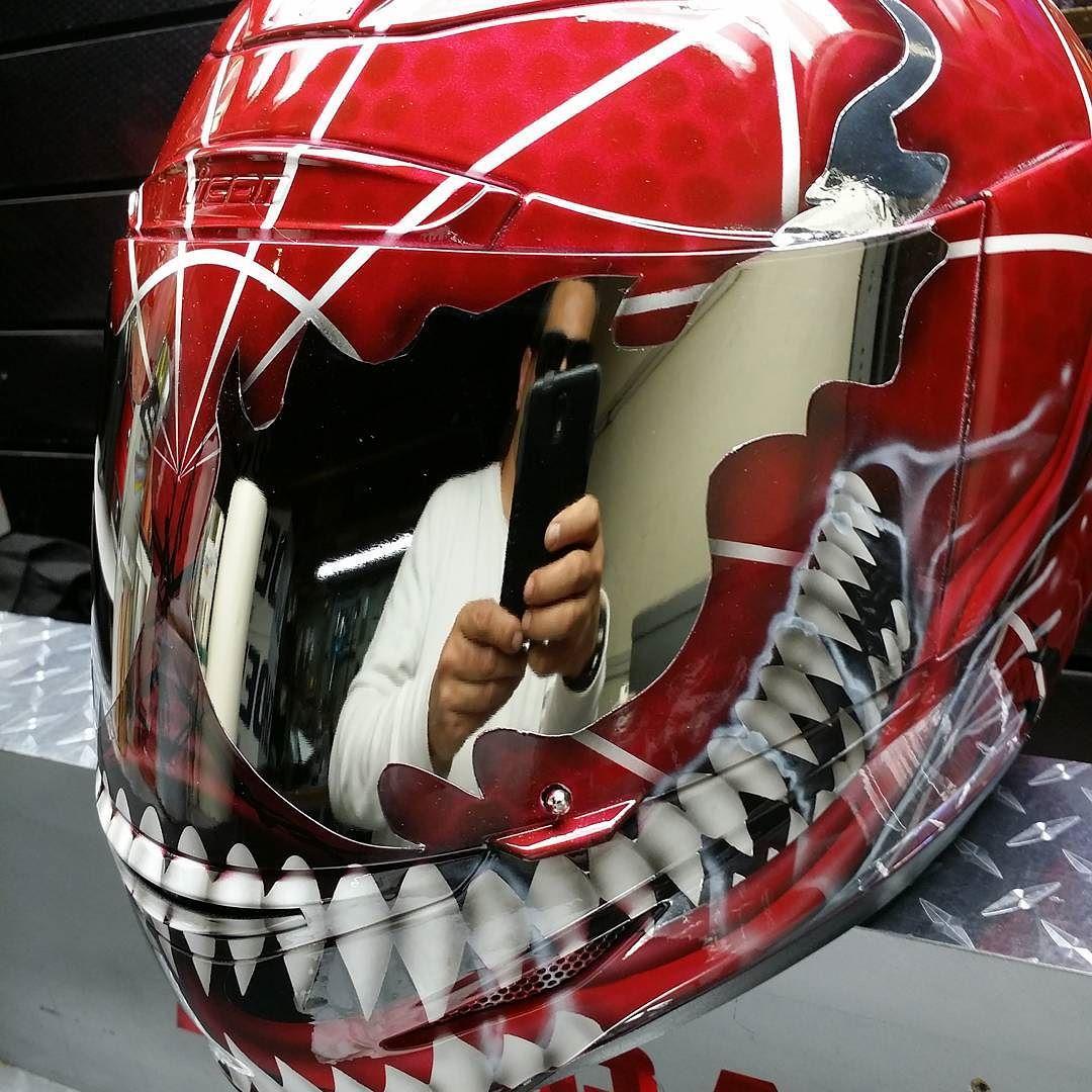Spiderman motorcycle helmets - Spider man moto ...