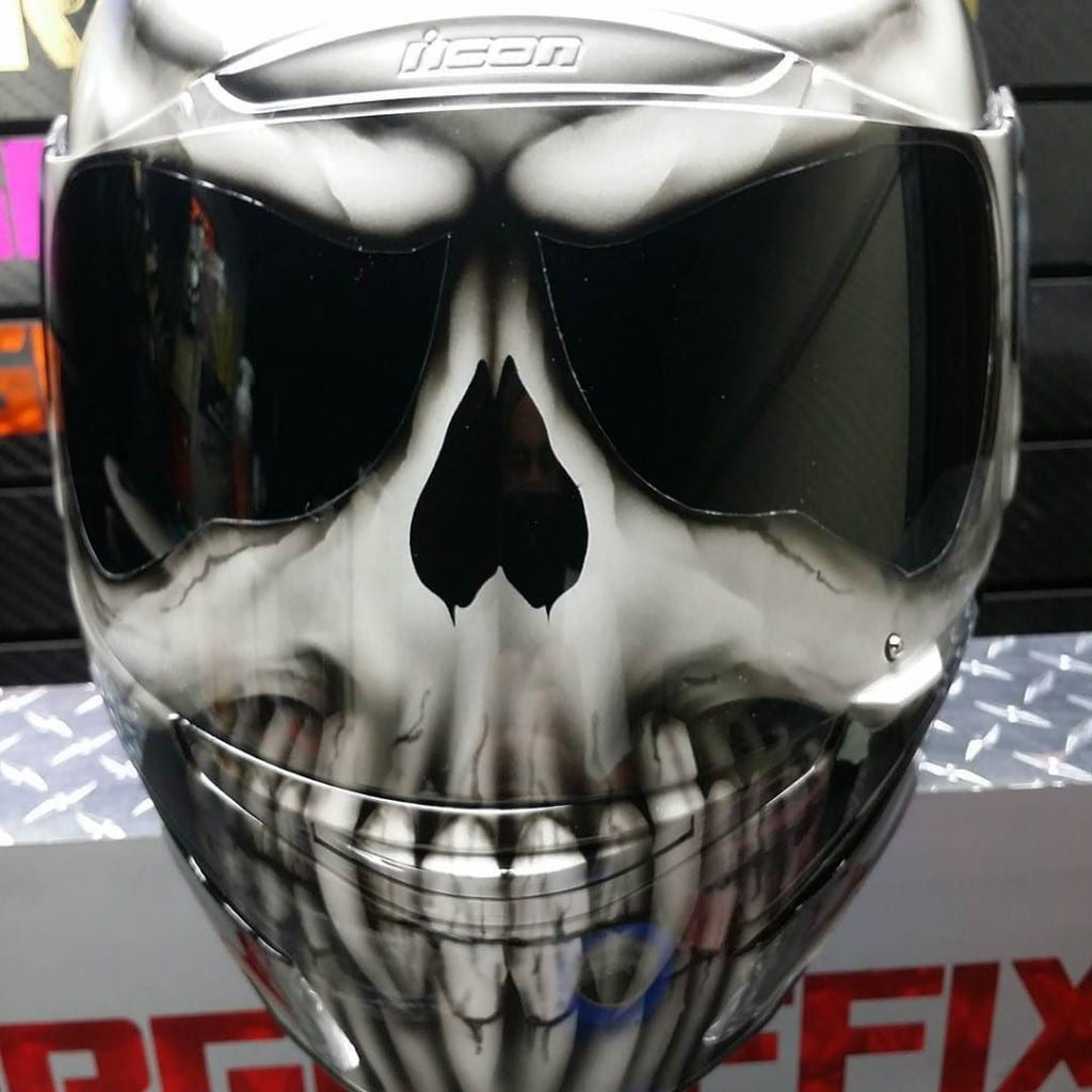 Skull Motorcycle Helmets - WARNING; Not all Skulls are ...