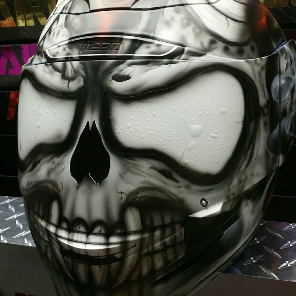 Skull Motorcycle Helmets Warning Not All Skulls Are