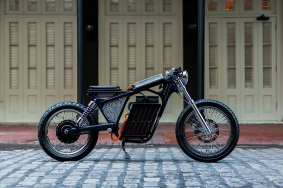 Caferacerz Portfolio Item Savage From Night Shift Bikes Electric Cafe Racer