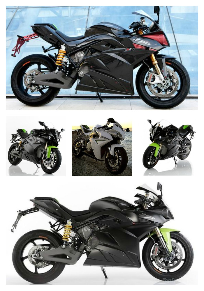 Energica Ego Electric Motorcycles