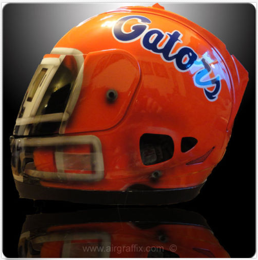 Themed  - Eastern Football South Motorcycle College Helmets
