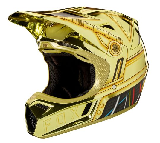 Fox V3 Helmet >> Star Wars Motorcycle Helmets - I am one with the FORCE.