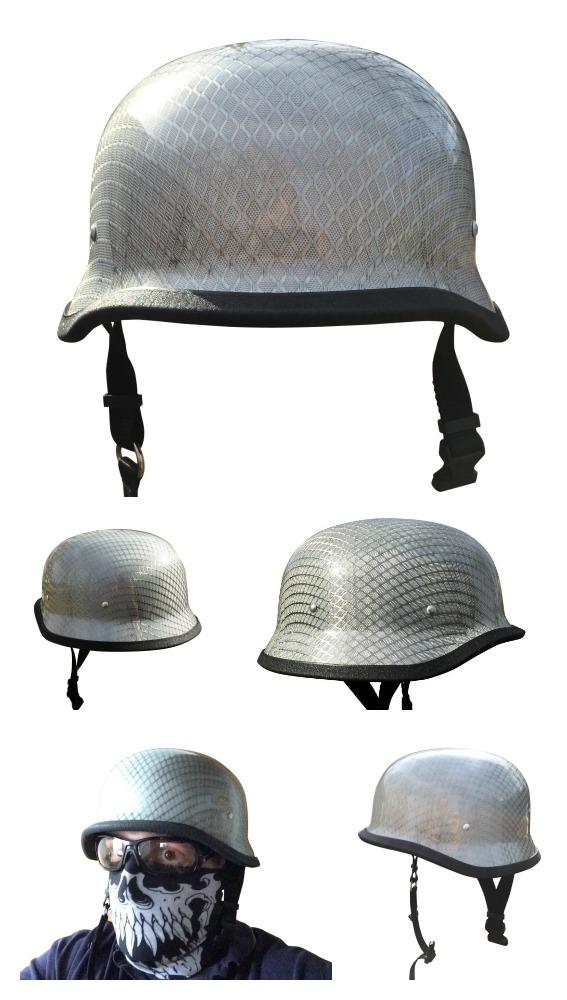 German style Carbon Fiber Motorcycle Helmet