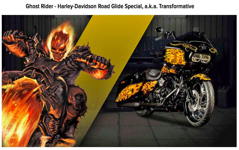 Ghost Rider Motorcycle Helmet