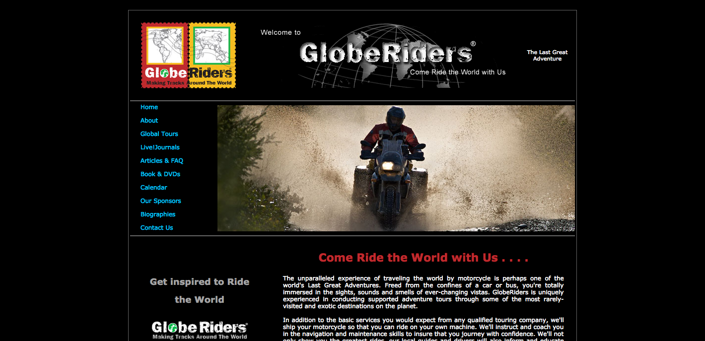 GlobeRiders Your Motorcycle Adventure Touring Company