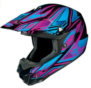 HJC Fulcrum Women s CL X6 Off Road Dirt Bike Motorcycle Helmet