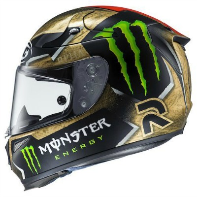 Energy Drink Motorcycle Helmets Monster Vs Rebull