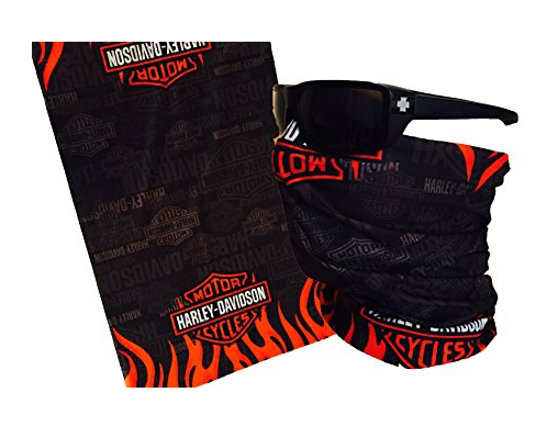 Harley Davidson Anthem Face Mask Tube Bandana Balaclava Biker Mask Multi Function Tactical Seamless
