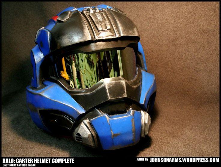 Helmet Concept 7 Halo Carter Helmet