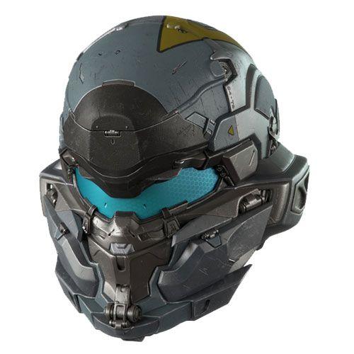 Helmet Concept 8 Halo 5 Guardians Spartan Jameson Locke