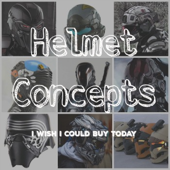 Helmet Concepts I wish I could buy today in 2016