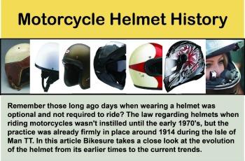 Motorcycle Helmet History