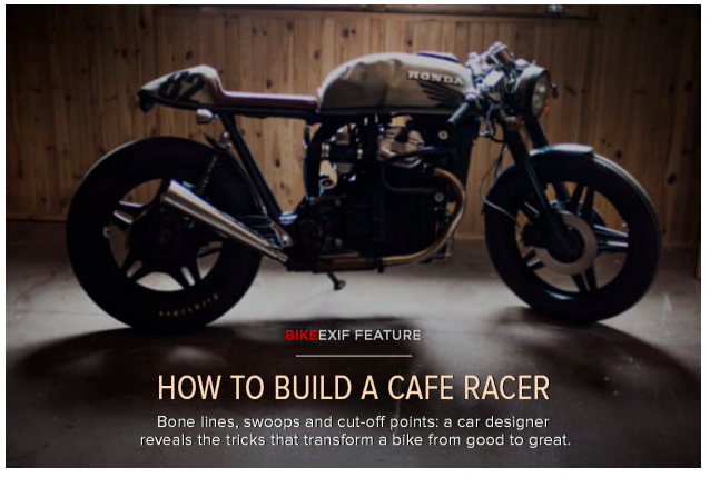 How To Build A Cafe Racer from Bike EXIF