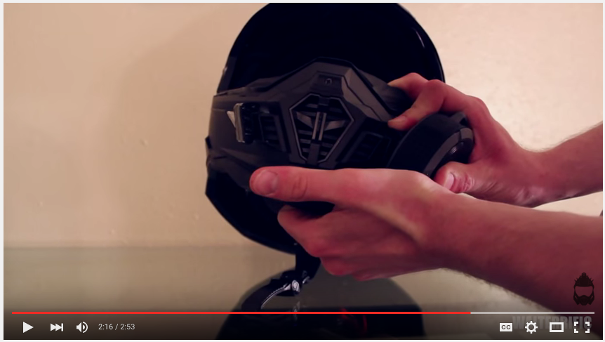 How to make a Venator Mark II Helmet 8
