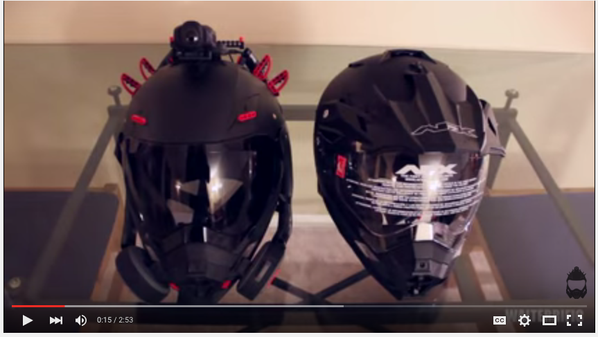 How to make a Venator Mark II Helmet