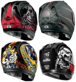 Icon Alliance Dark Helmet Grahpic Designs