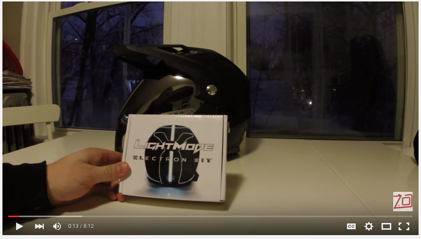 97e473bdb0c Image 1 LightMode Helmet Mod Install Review YouTube